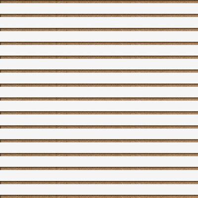 Panneaux rainurés Blancs, entraxe 7,5 cm