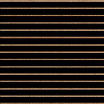 Panneaux rainurés Noirs, entraxe 7,5 cm