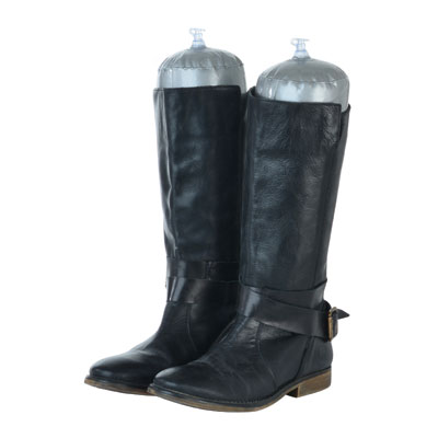 Supports pour bottes gonflables