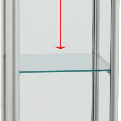 Etagère en verre pour code 219400