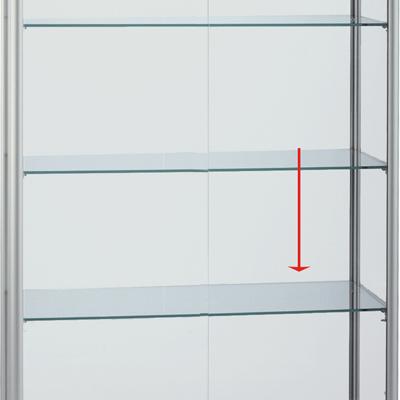Etagère en verre pour code 219402