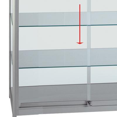 Etagère en verre pour code 219407