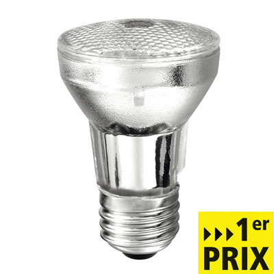 Ampoule halogène, E27-PAR 16, 42 watts