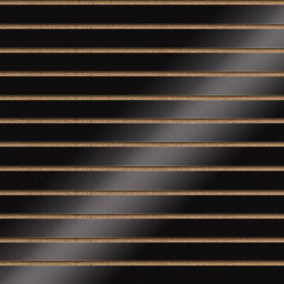Panneaux rainurés finition laquée, entraxe 10 cm