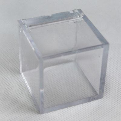 Cube plexi pour dragées