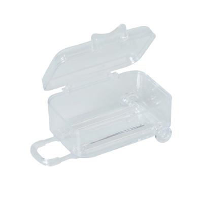 Mini valise à roulettes à garnir