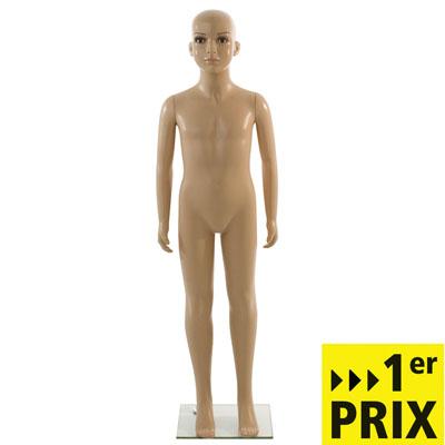 Mannequin enfant 8-10 ans en plastique sans perruque