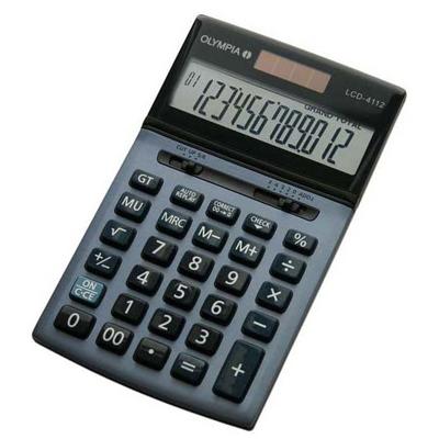 Calculatrice de bureau OLYMPIA LCD 4112