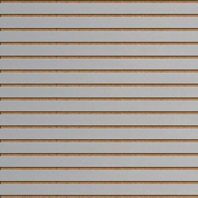 Panneaux rainurés Gris clair, entraxe 7,5 cm