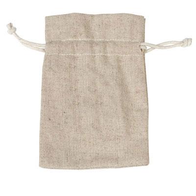 Sacs tissu coton naturel