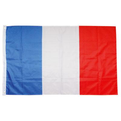 Drapeau Français à oeillets