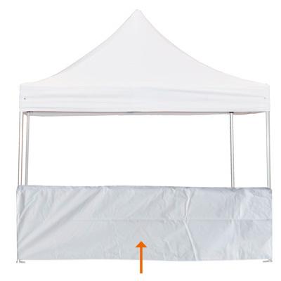 Demi rideau pour tente