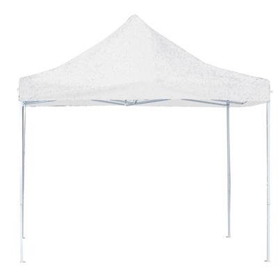 Tente blanche pliable