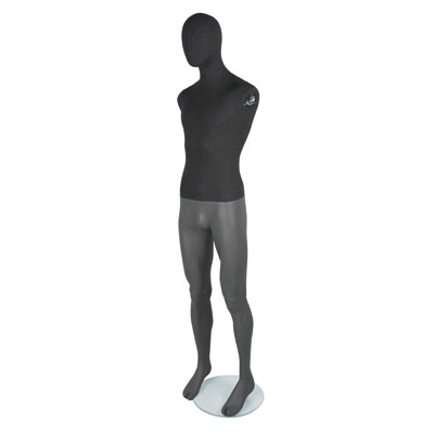Mannequin homme vintage sans bras