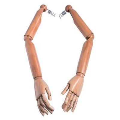 Paire de bras articulés homme