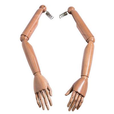 Paire de bras articulés femme