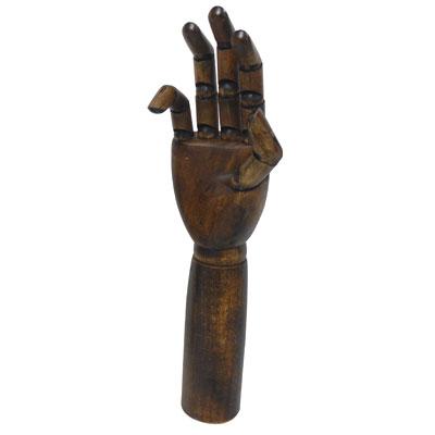 Main femme articulée