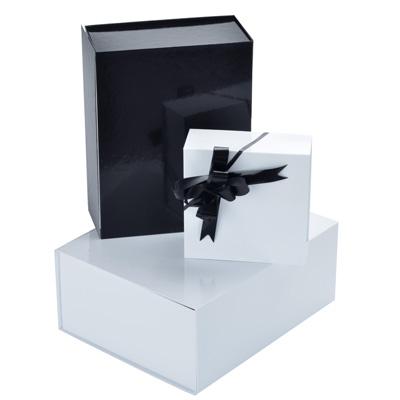 Boîtes pelliculées avec couvercle