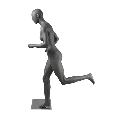 Mannequin femme Running, finition mate