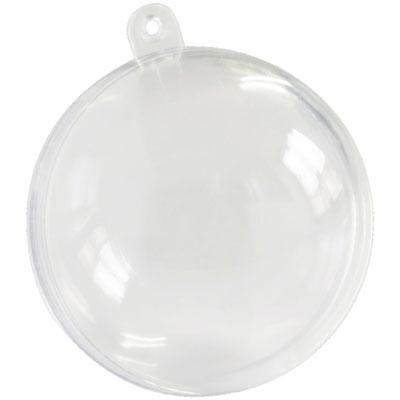 Boules Plexi 10 cm à garnir