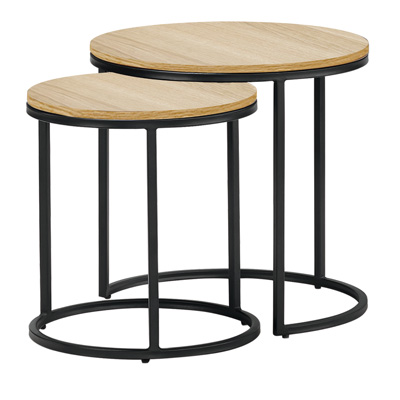Tables gigognes rondes