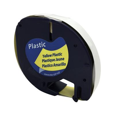 Ruban plastique pour étiqueteuse