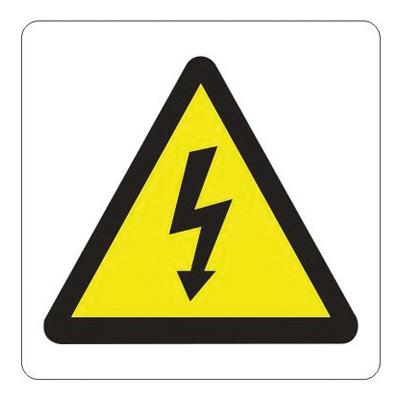 Adhésif de sécurité Danger électrique