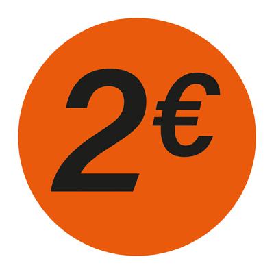 Gommettes adhésives 2€