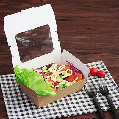 Boîte à salade avec fenêtre