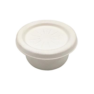 Pots à sauce bagasse
