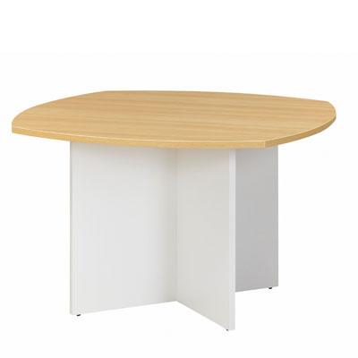 Table réunion 4 côtés courbes