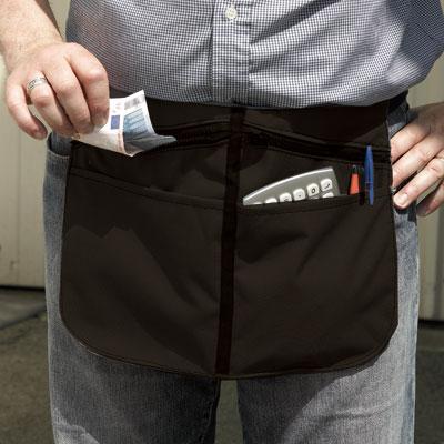 Poche à monnaie avec ceinture