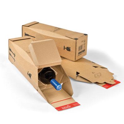 Carton pour envoi 1 bouteille