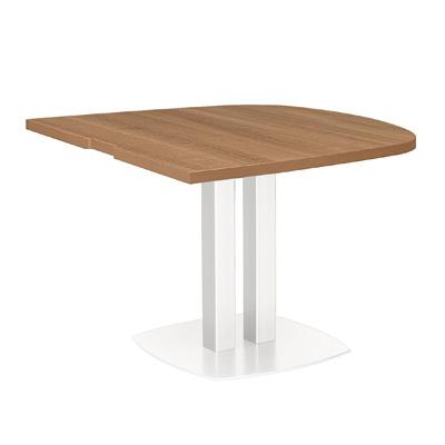 Table de réunion demi ovale