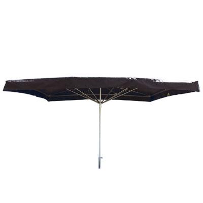 Parasol fixe toile en PVC