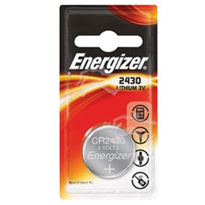 Piles lithium CR2430 Energizer