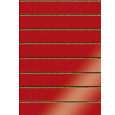 Panneaux rainurés finition laquée, entraxe 15 cm
