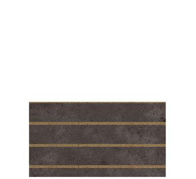 Panneau rainuré Béton sombre, entraxe 15 cm