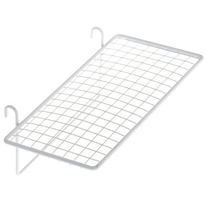 Tablette fil droite Blanc