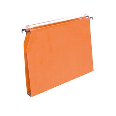 Dossiers suspendus tiroirs, fond en U 15 mm