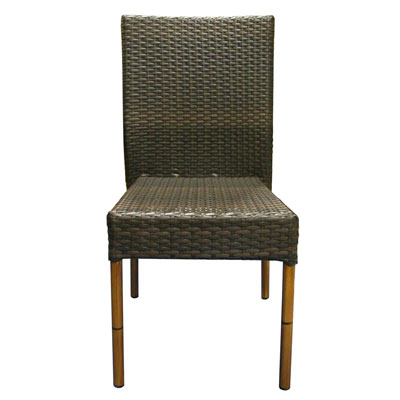 chaise tress e marron. Black Bedroom Furniture Sets. Home Design Ideas
