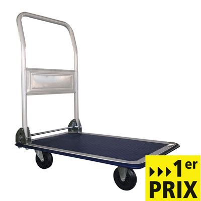 Chariot plateforme pliable