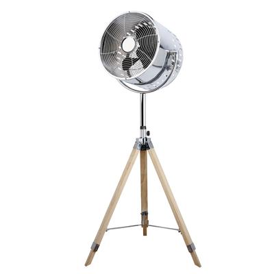 Ventilateur rétro sur pied 80W