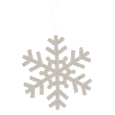 Flocon de neige porte dcorations - Couronne de flocon de
