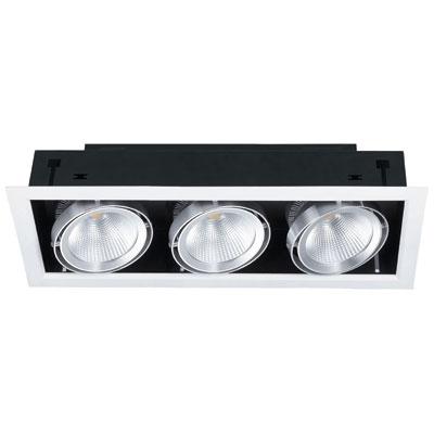 Spot à LED 3x20W encastrable