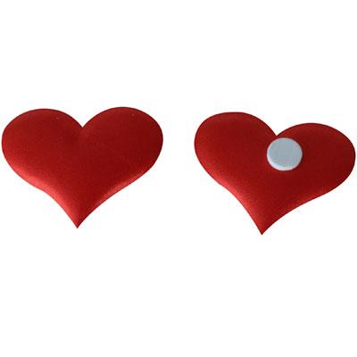 Coeurs avec adhésif