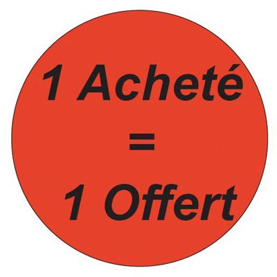 Gommettes adhésives 1 Acheté = 1 Offert