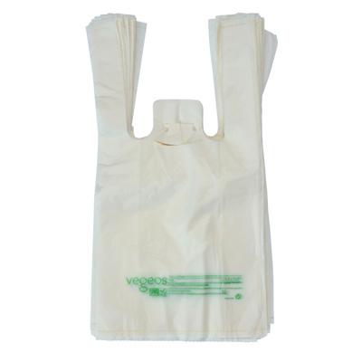 Sacs plastique biodégradables et compostables à bretelles