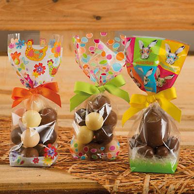 Sachets confiserie Pâques