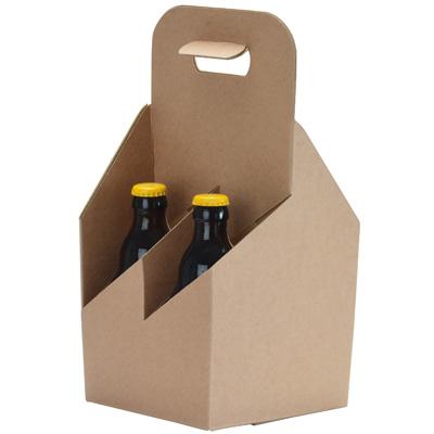 Boîtages 4 bouteilles de bière larges